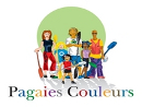 Le logo officiel des Pagaies Couleurs